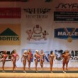 Bodybuilders pose at Moscow Bodybuilding and Fitness Cup — Stock Video