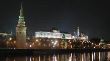 Victory Day Parade training near Kremlin — Video Stock