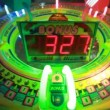 Slot machine with rotating bulbs, child slots — Stock Video