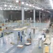 Workers prepare stands for exhibition MOSBUILD 2011 — Stock Video #28843549