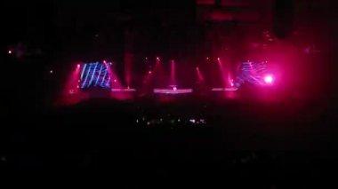 Armin van Buuren perform at ARMIN ONLY: MIRAGE show — Stock Video