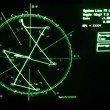 Curve was replaced by table with results on screen of oscilloscope — Video