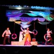 Stock Video: Actors dressed as sailors dancing on stage
