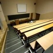 Stock Video: Empty lecture auditorium