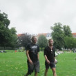 People relax in Kongens Have — Stock Video