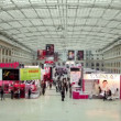Panorama of XVII International Festival World of Beauty 2010 — Stok video