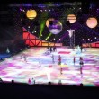 Ice Show - The Snow Queen, in the Luzhniki Stadium — Stock Video