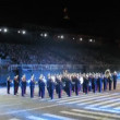 Demonstration performances of Orchestra of Northwest military district of France — Stok video