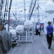 Stock Video: Legendary Russifour masted barque Krusenstern