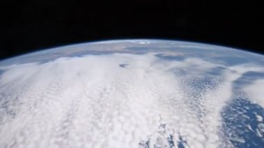 Planet Earth from space — Stock Video