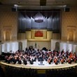 Stock Video: Performance of Symphony Orchestrof Moscow State Conservatory