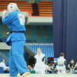Sportsman Zivic from Russia overturns on tatami sportsman Mirco at World Cup 2011 KUDO — Stock Video
