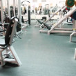 Many simulators in large gym — Stock Video