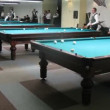 Championship of Moscow on billiard sports among men passes in billiard center Olimpiysky — Stock Video