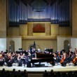 Stock Video: Grand piano and Symphony Orchestrof Moscow State Conservatory
