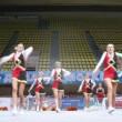 Stimul team participates in Championship on cheerleading — Stock Video