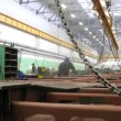 Stock Video: People work in plant workshop of plant Metrowagonmash