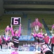 Victory team participates in Championship on cheerleading — Stock Video