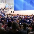 Meeting of Jehovahs Witnesses in Moscow, Russia — Vídeo de stock