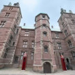 Medieval building of royal residence Rosenborg Slot — Stock Video