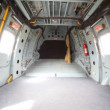Luggage compartment is in tail part of helicopter — Stock Video