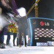 Winners receive awards on 18th stage of World Cup on snowboard — Vidéo