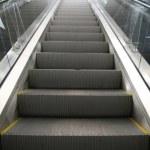 Escalator in shopping center — Stock Photo #7435213