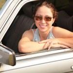 Woman & car — Stock Photo #7448802