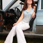 Woman & car — Stock Photo #7448831