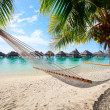 Stock Photo: Perfect beach on Moorea