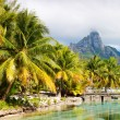 Bora Bora landscape - Stock Photo