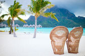 Bora Bora beach — Stock Photo