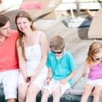 rodina na dovolené — Stock fotografie #12732781