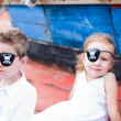 Stock Photo: Little pirates