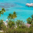 Moorea island panorama — Stock Photo