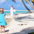 Little girl on a beach — Stock Photo #13548813