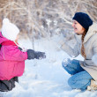 Winter fun outdoors — Stock Photo #13749586