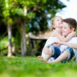 Adorable kids outdoors — Stock Photo #13871884