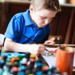 Boy painting — Stock Photo #13871916