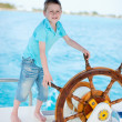 Little captain — Stock Photo