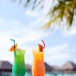 deux cocktails exotiques — Photo