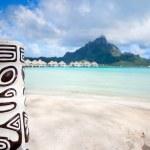Bora Bora beach — Stock Photo #14061417