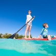 Family water activity — Stock Photo #14061430