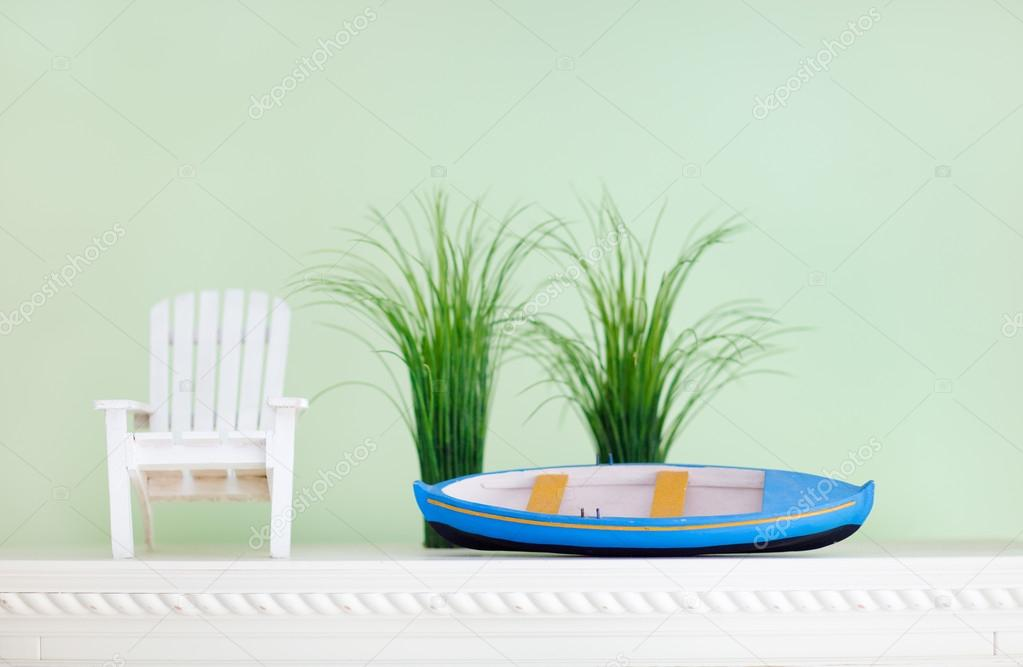 Close up of room decoration in Caribbean style  Stock Photo #14060555