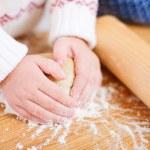 Kneading dough — Stock Photo #14335473
