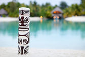 Polynesian beach — Stock Photo