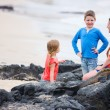 Family at Galapagos — Stock Photo #19379845