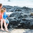 Family at Galapagos — Stock Photo #20096735