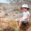 Royalty-Free Stock Photo: Little girl at Galapagos islands