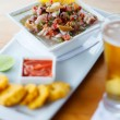 Plate of ceviche - Foto Stock